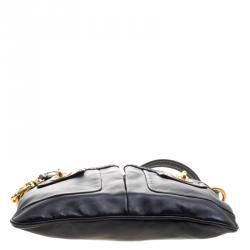 Marc by Marc Jacobs Black Leather Crossbody Bag
