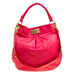 74b58a786132 Marc by Marc Jacobs Red Leather Classic Q Hillier Hobo