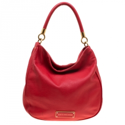 5e75622d972a Marc by Marc Jacobs Red Leather Too Hot To Handle Hobo Bag