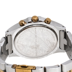 Marc By Marc Jacobs Silver Two-Tone Stainless Steel Blade MBM3178 Women's Wristwatch 41 mm