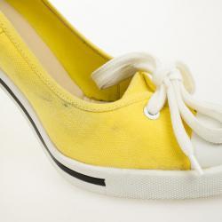 Marc Jacobs Yellow Cap Toe Bow Pumps Size 39.5