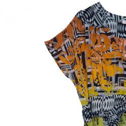 Matthew Williamson Ambroise Printed Silk-georgette Dress L
