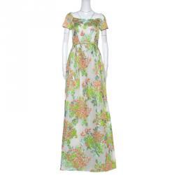 32fae499f فستان ماكسي ماكس مارا دانزيكا جاكار لوريكس أبيض مورد S