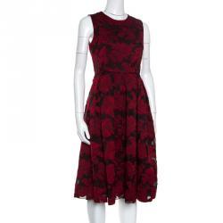 1190700abd6 Buy Max Mara Blush Pink Lurex Jacquard Patterned Sleeveless Gabriel ...