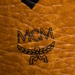 MCM Black Leather Medium Milla Tote