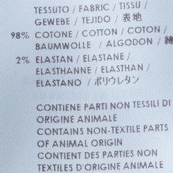 McQ By Alexander McQueen Off-White Low Waist Denim Jeans S