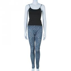 McQ By Alexander McQueen Monochrome Houndstooth Leggings L