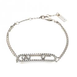 c1875da86 Messika Move Classic Pavé Diamonds & 18k White Gold Bracelet