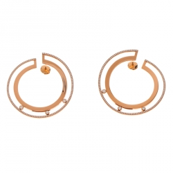 1a8f49711 Messika Move Romane 18k Rose Gold Large Hoop Earrings