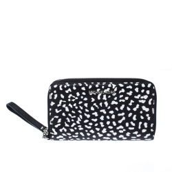 Michael Kors Leopard Print Leather Smartphone Wristlet