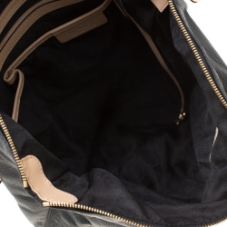 MICHAEL Michael Kors Black Leather Jet Set Tote