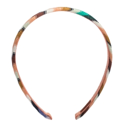 Missoni Multicolor Fabric Blend Head Band