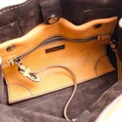 Miu Miu Textured Leather East West Tote