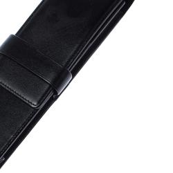 Montblanc Black Leather Meisterstück 2 Pen Pouch