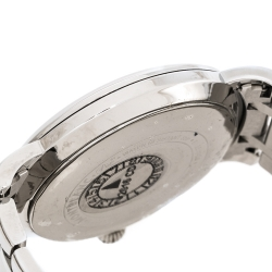 Montblanc White Mother Of Pearl Stainless Steel Star Classique 108764 Women's Wristwatch 34 mm
