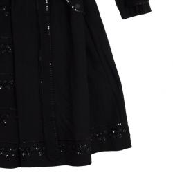 Moschino Embellished Coat M