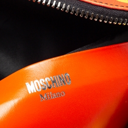 Moschino Multicolor Eyes PVC Capsule Backpack
