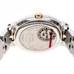 Movado Black Two Tone Stainless Steel Museum Women's Wristwatch 26MM