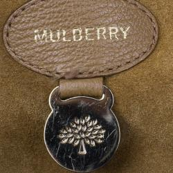 Mulberry Oak Brown Leather Bayswater Satchel
