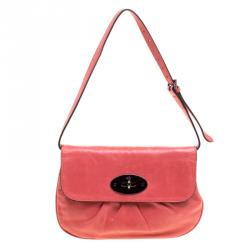 bdf3f15ccc37 Mulberry Pink Pleated Leather Joelle Pochette