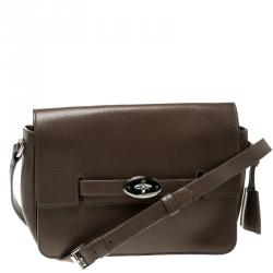 1db1bef1930 Mulberry Brown Leather Bayswater Shoulder Bag