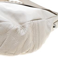Mulberry Cream Leather Daria Hobo