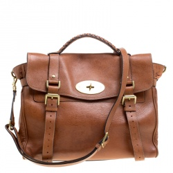 Mulberry Brown Leather Limited Edition London Olympics 1/12 Alexa Satchel