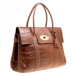 حقيبة مالبري بايزوتر جلد بنية