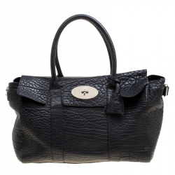 b13679715620 Mulberry Brown Textured Leather Bayswater Satchel