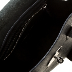 Mulberry Black Leather Mini Cara Delevingne Backpack Tote