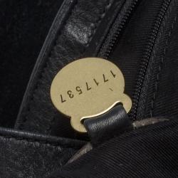 Mulberry Black Leather Flap Shoulder Bag