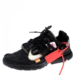 Off White X Nike Back Technical Fabric The 10: Presto Sneakers Size 38.5