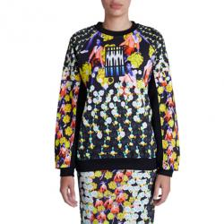 Peter Pilotto Ruc Printed Cotton Sweater S