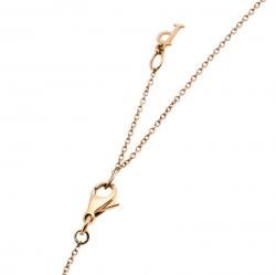 Piaget Possession Diamond 18K Rose Gold Pendant Necklace