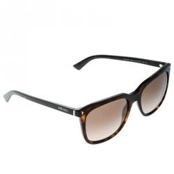 7f283ab119269 Prada Dark Havana Brown Gradient SPR12R Wayfarer Sunglasses
