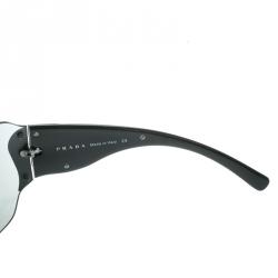 Prada Black SPR51G Shield Sunglasses