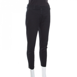 Prada Black Cotton Tailored Pants S