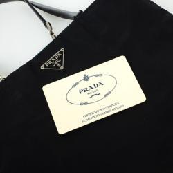 Prada Black Tessuto Nylon Tote