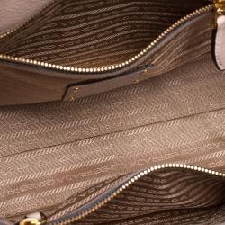 Prada Beige Vitello Leather Tote