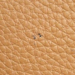 Prada Brown Leather Vitello Daino Crossbody Bag