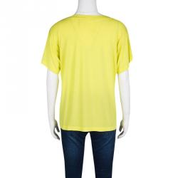 Proenza Schouler Yellow Short Sleeve T-Shirt S