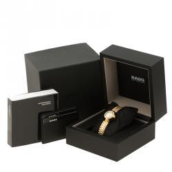 Rado Diastar Gold Plated SS Gold Women's Wristwatch 27 mm