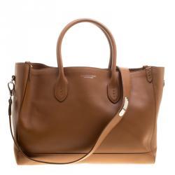 38c60f5e6b Ralph Lauren Brown Leather Classic Tote