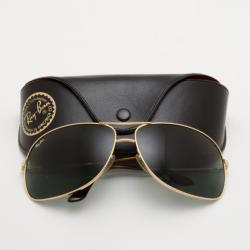 Ray-Ban Gold Rimmed RB 3267 69 Aviators