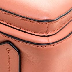 Reed Krakoff Peach Leather Micro Boxer Tote