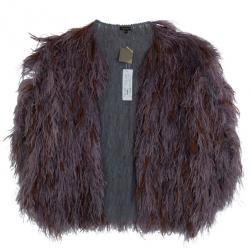 Reem Acra Luxe Fur Stole L