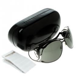 Roberto Cavalli Black/Gun Metal 464S Zircone Sunglasses