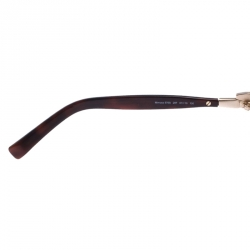 Roberto Cavalli Brown 578S Gradient Mimosa Square Sunglasses