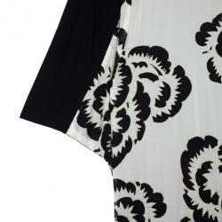 Roberto Cavalli Floral Lining Long Cardigan M