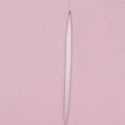 Roland Mouret Pink Crepe Draped Ardmore Midi Dress M